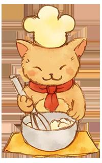 猫と生クリーム